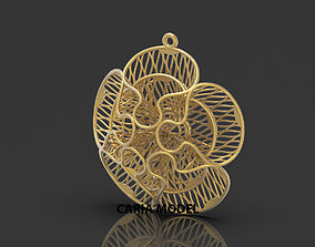 Ultra Fusion Pendant STL 3d model for 3d printing 055