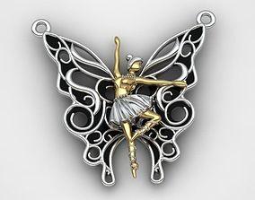 matrix Angel Pendant 3D printable model