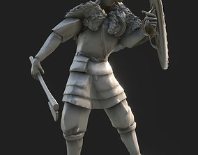 3D print model Viking with shield