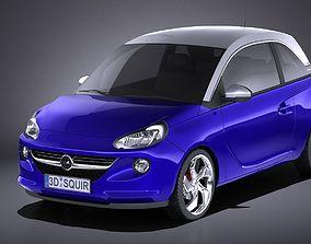 Opel Adam 2016 VRAY 3D