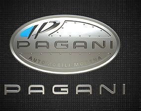 3D pagani logo