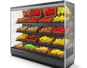 3D model Fruit and Vegetable refrigerator by Arneg