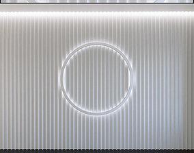 Wall Panel Set 129 3D