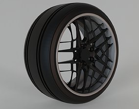 3D tire und rims cocnept tuning part