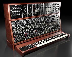 Synthesizer Moog Modular 55 3D