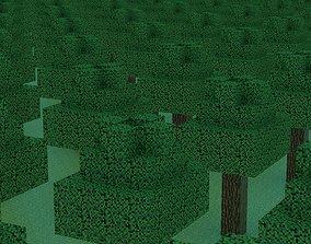 Minecraft blocks models demo 3D