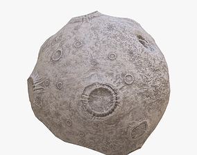 3D model Asteroid stone