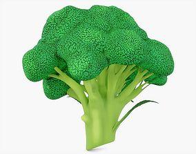 Broccoli Vegetable 3D model