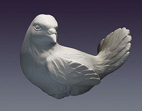 3D printable model Decorative dove