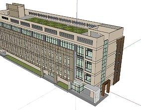 3D Office-Teaching Building-Canteen 60