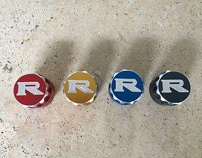GTR R35 Console buttons 3D model