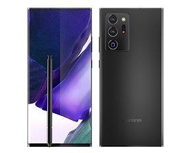 3D model Samsung Galaxy Note 20 Ultra Mystic Black