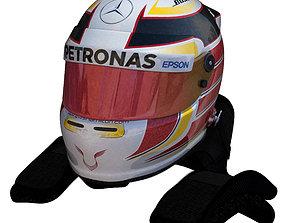 Hamilton Helmet 2016 3D model