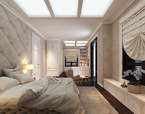 interior QGL Bedroom 3D