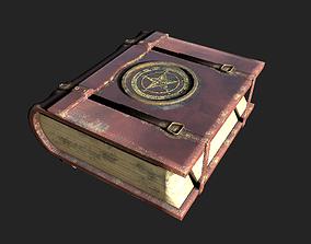 3D asset Old Magic Book