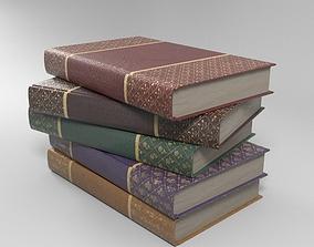 3D model Books notebook