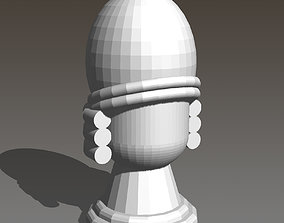 3D print model Lisboa Boardgame Player Wig Marker and 2