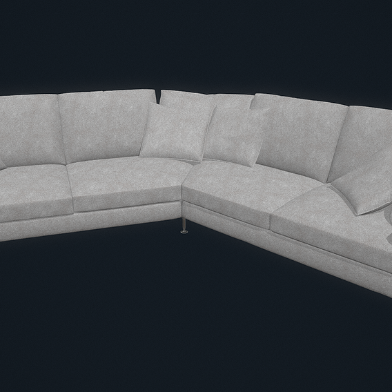 B B Harry Large Sofa