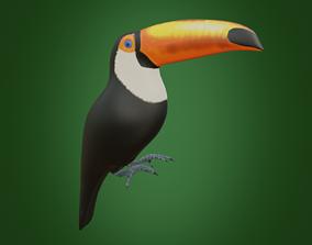 3D model game-ready Toucan