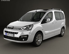 3D Citroen Berlingo Multispace 2015