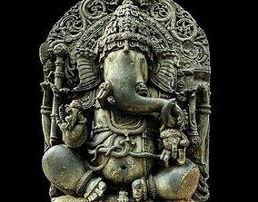 3D Ganesha religiou-object