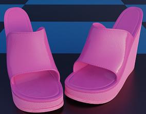 3D model High Heel Sandals