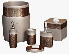 Magnolia Bath Accessories by Croscill 3D