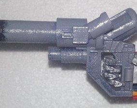 Transformers Optimus Prime Blaster 3D printable model 4