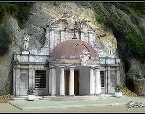 3D Sant Emidio alle grotte Temple