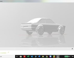 3D printable model Ford Escort 2 Door