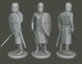3D printable model Knight Templar Stand2 T1