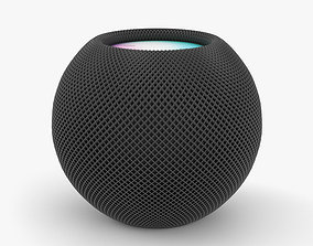 Apple HomePod Mini Space Gray 3D