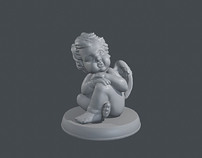architecture Angel 3D print model
