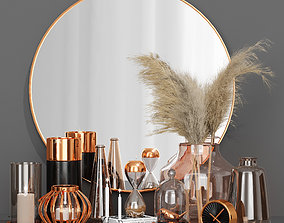 decorative-set-with-mirror 3D