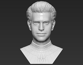 Spider-Man Andrew Garfield bust 3D printing ready stl 1