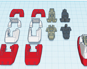 3D print model MG GUNDAM v1-5 Foot joint and Armor Bundle