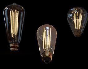 Bulb -Edison bulb 3D model