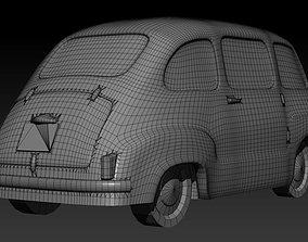 3D printable model Fiat 600 Multipla scale 1-160