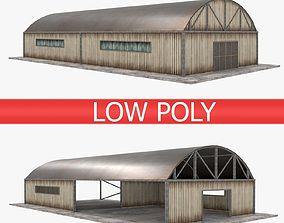 3D model Warehouse pack - White