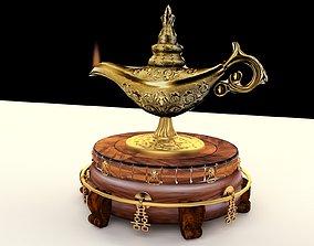 3D Chinese magic lamp