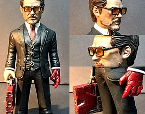 3dprinted Tony Stark 3D printing model