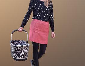 Anna 10547 - Shopping Casual Woman 3D model