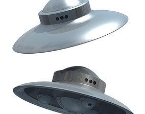 SciFi Classic 1950s UFO 3D model