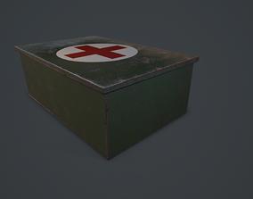 First aid kit 3D asset VR / AR ready
