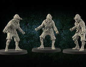 3D printable model Medieval zombie 1
