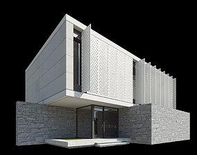 3D Modern Villa Design 008