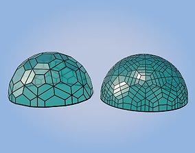3D model Geodesic Domes