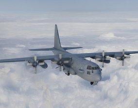 C130 transport aircraft c130 Hercules 3D model
