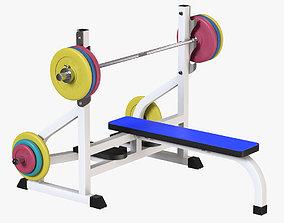 Weight Bench 3D