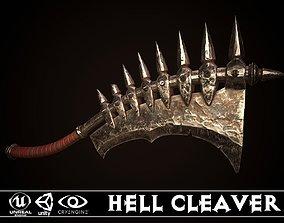 Hell Cleaver 3D asset